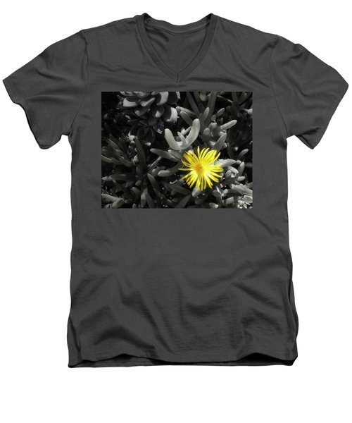 Men's V-Neck T-Shirt featuring the photograph Be Different by Lynn Geoffroy