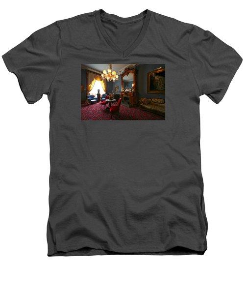 Be Gone Before Nightfall Men's V-Neck T-Shirt