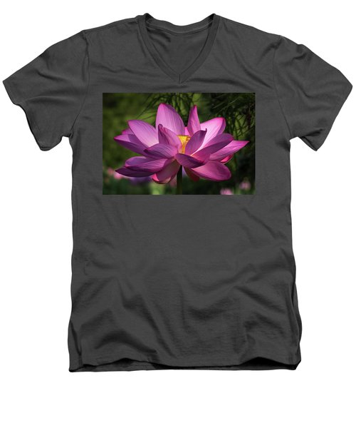 Be Like The Lotus Men's V-Neck T-Shirt