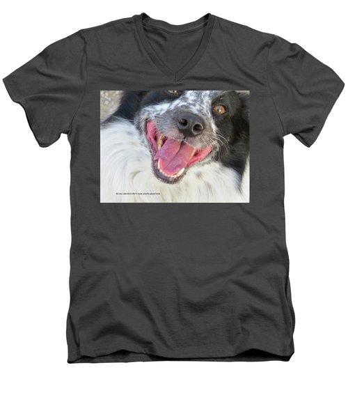 Be My Valentine Men's V-Neck T-Shirt