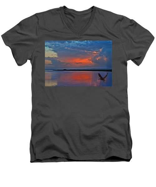 Be Still My Soul Men's V-Neck T-Shirt
