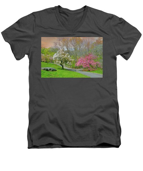Men's V-Neck T-Shirt featuring the photograph Be True To Yourself by Diana Angstadt