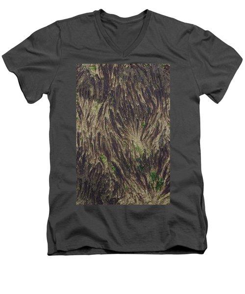 Beach Abstract 21 Men's V-Neck T-Shirt