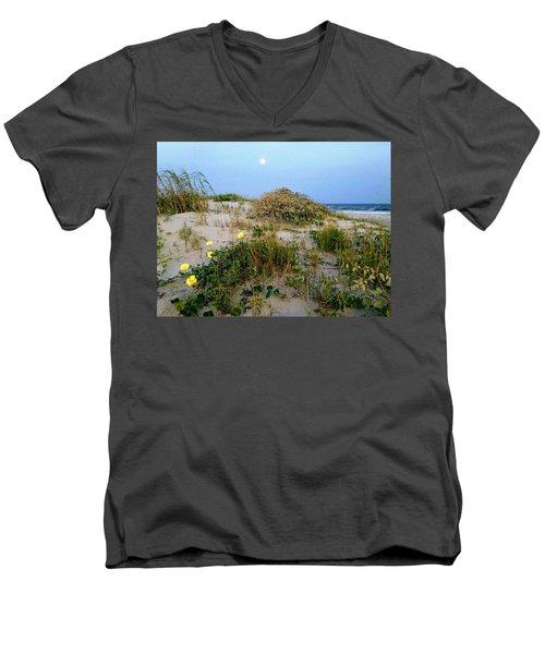 Beach Bouquet Men's V-Neck T-Shirt
