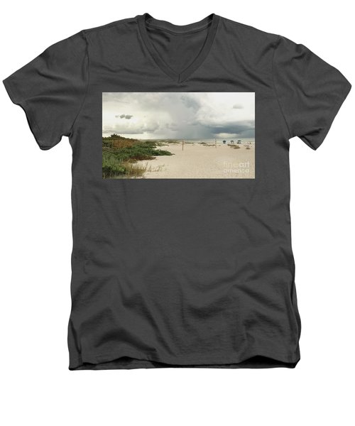 Beach Day Men's V-Neck T-Shirt