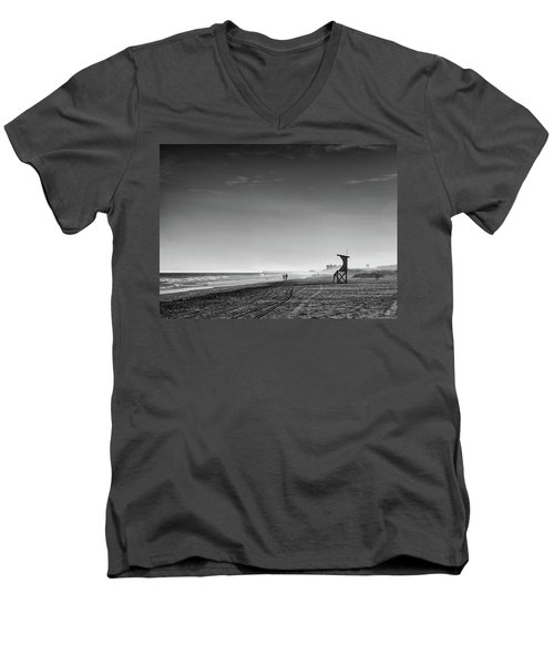 Beach Fog Men's V-Neck T-Shirt