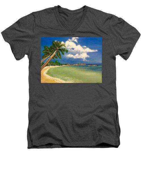 Beach Getaway Men's V-Neck T-Shirt