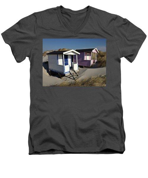 Beach Houses At Skanor Men's V-Neck T-Shirt