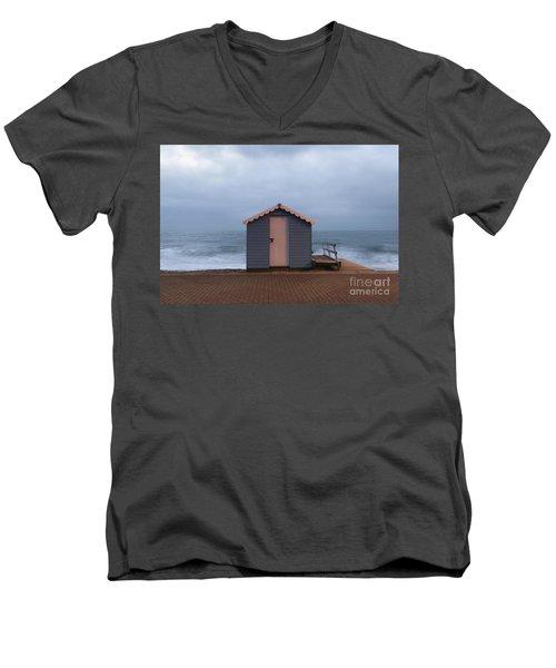Beach Hut Men's V-Neck T-Shirt