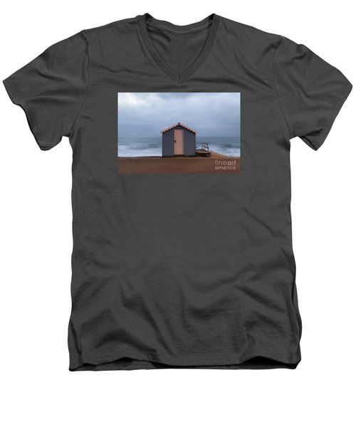 Beach Hut Men's V-Neck T-Shirt