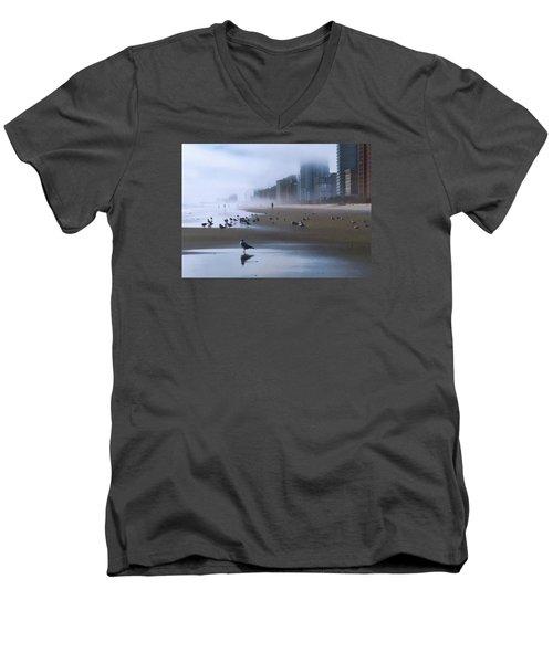 Beach Morning Men's V-Neck T-Shirt