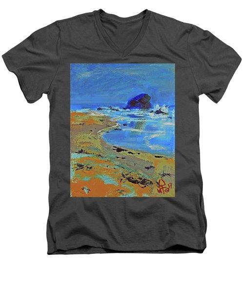 Beach Solitude Men's V-Neck T-Shirt
