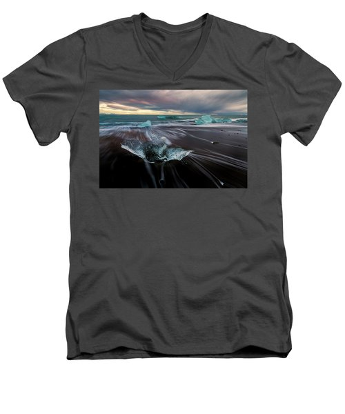 Beach Stranded Men's V-Neck T-Shirt