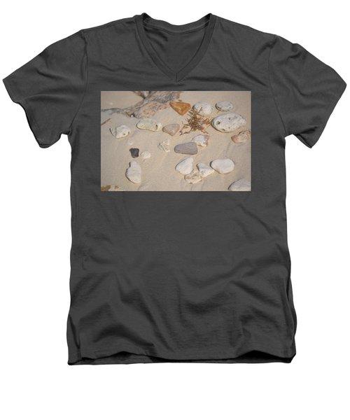 Beach Treasures 2 Men's V-Neck T-Shirt
