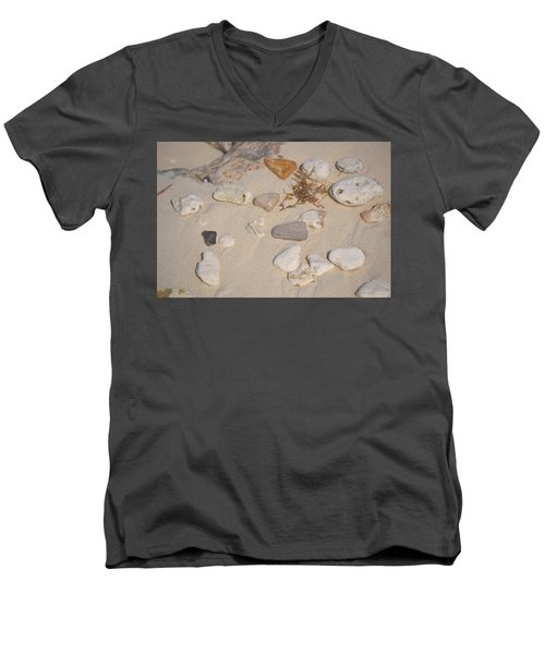 Beach Treasures 2 Men's V-Neck T-Shirt