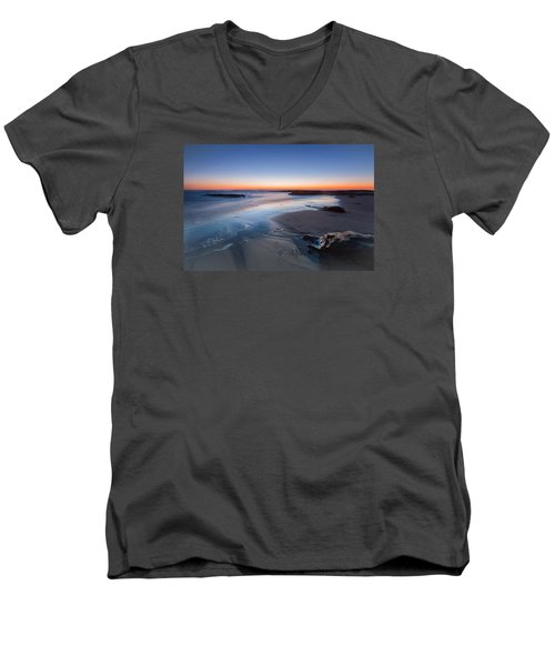 Beach View 2 Men's V-Neck T-Shirt by Catherine Lau