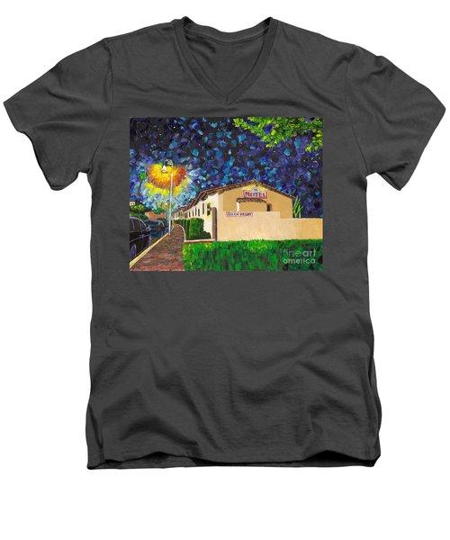 Beachcomber Motel Men's V-Neck T-Shirt
