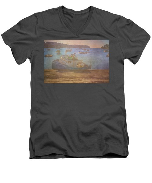 Beached For Cleaning Men's V-Neck T-Shirt