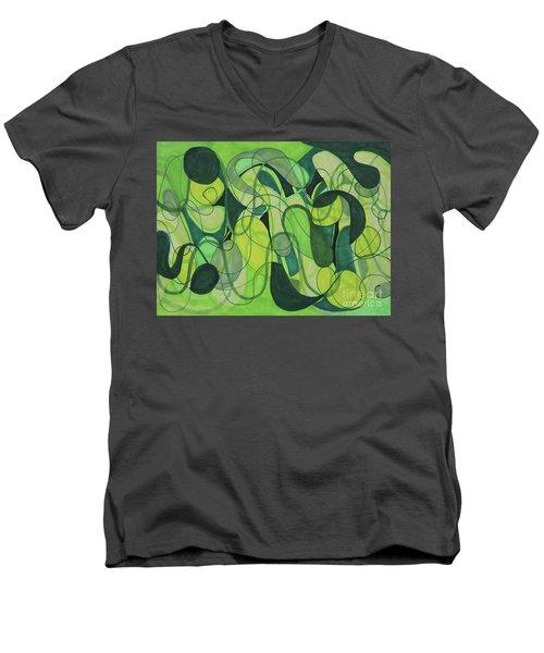 Beachy One Men's V-Neck T-Shirt