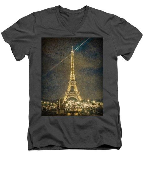 Paris, France - Beacon Men's V-Neck T-Shirt