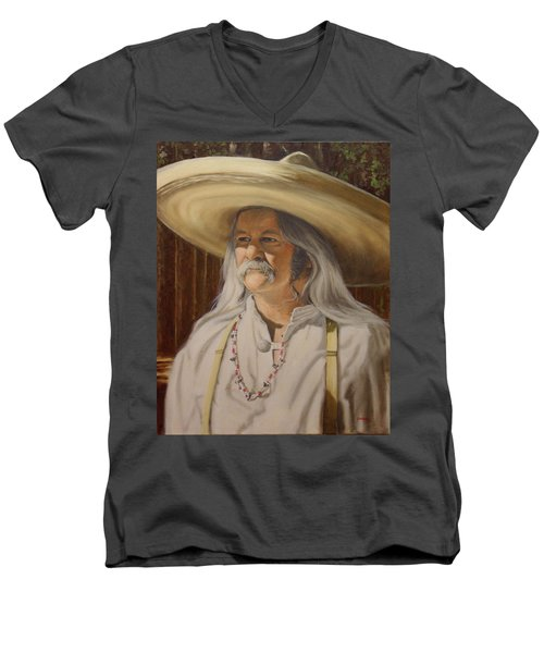 Bead Guy Men's V-Neck T-Shirt