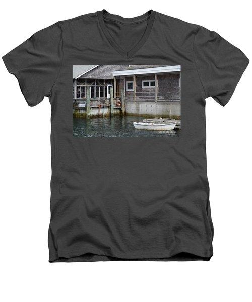 Beals Lobster Pound Men's V-Neck T-Shirt