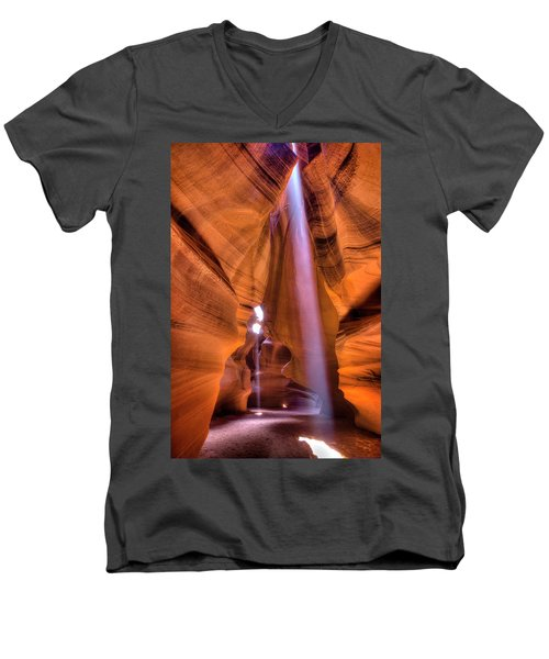 Beam Splitter Men's V-Neck T-Shirt