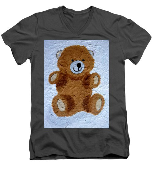 Bear Hug Men's V-Neck T-Shirt
