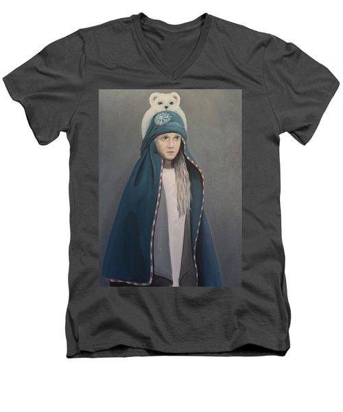 Bear With Me Men's V-Neck T-Shirt