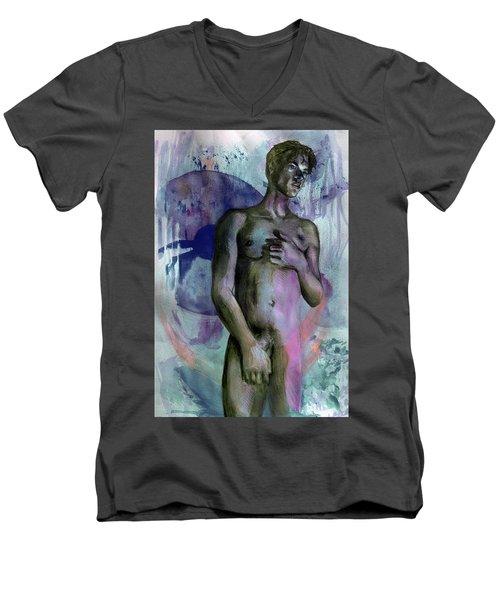Bearing Mysteries  Men's V-Neck T-Shirt