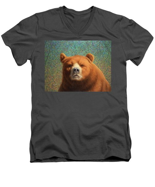 Bearish Men's V-Neck T-Shirt