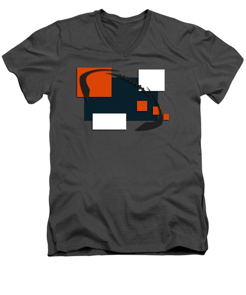 Bears Abstract Shirt Men's V-Neck T-Shirt by Joe Hamilton