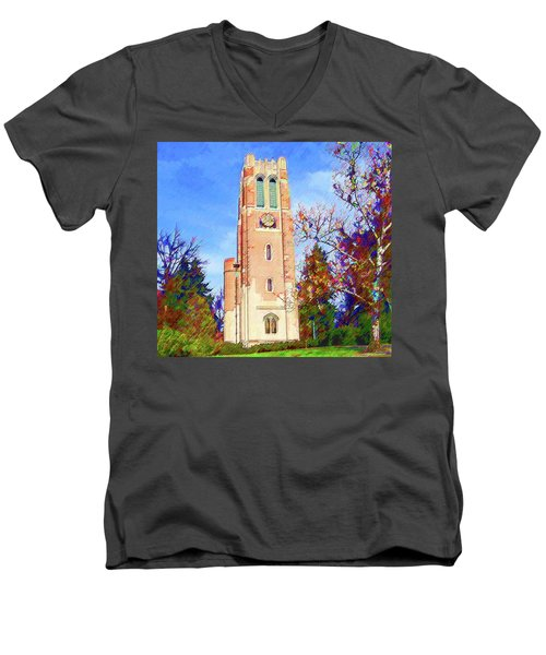 Beaumont Tower Men's V-Neck T-Shirt