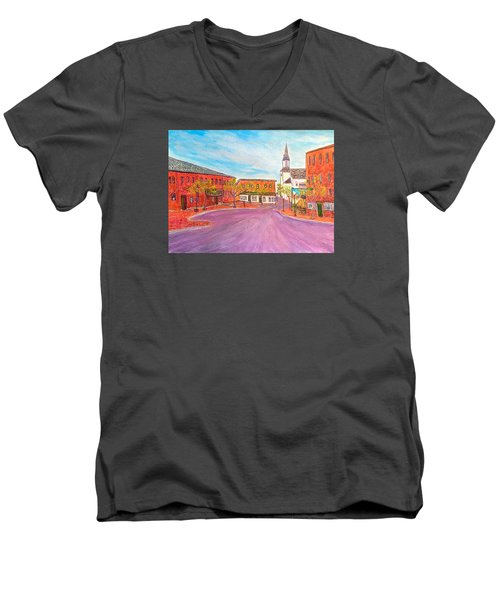 Beautiful Amesbury Men's V-Neck T-Shirt