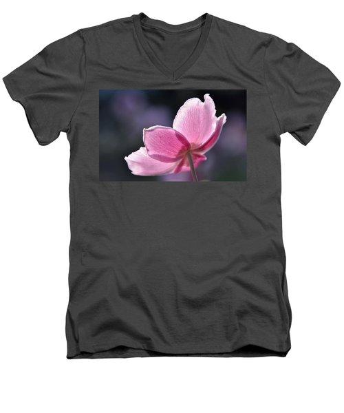 beautiful Anemone Men's V-Neck T-Shirt