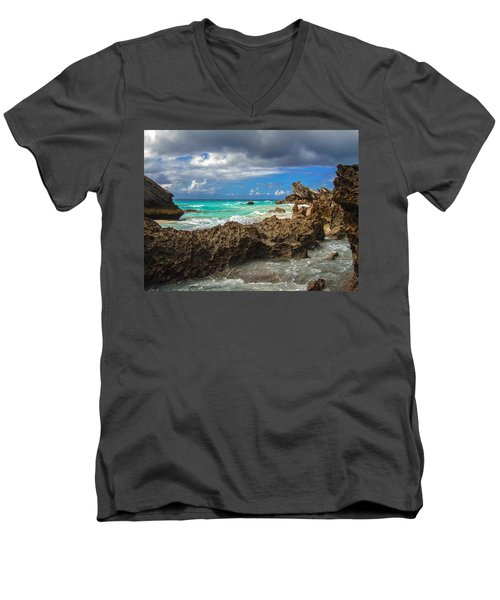 Beautiful Bermuda Men's V-Neck T-Shirt