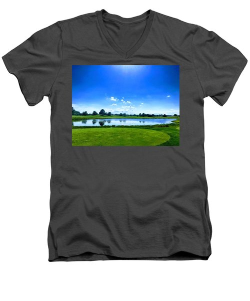 Beautiful Day Men's V-Neck T-Shirt