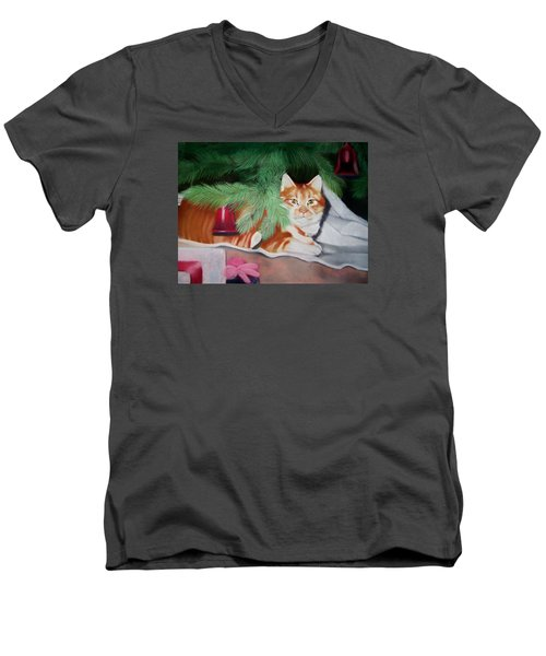 Beautiful George Men's V-Neck T-Shirt