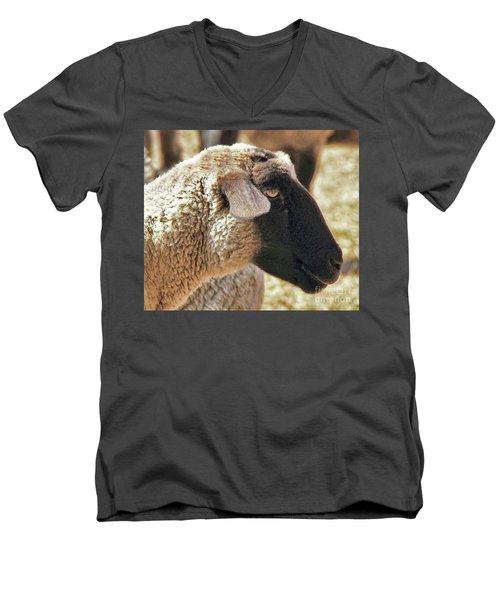Beautiful Girl Men's V-Neck T-Shirt