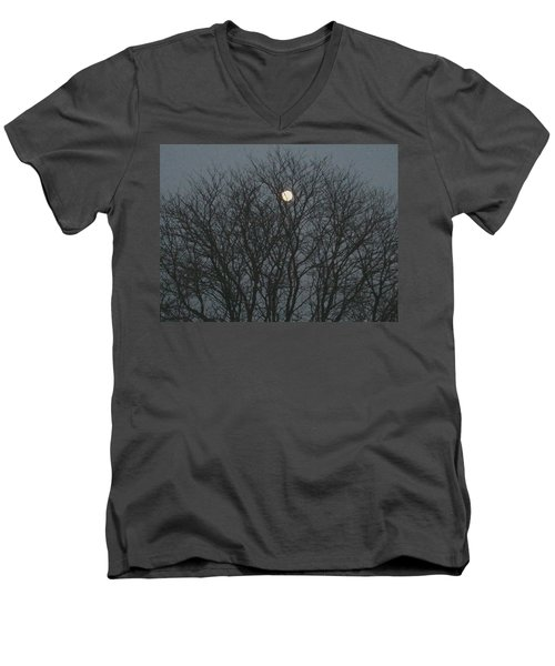 Beautiful Moon Men's V-Neck T-Shirt
