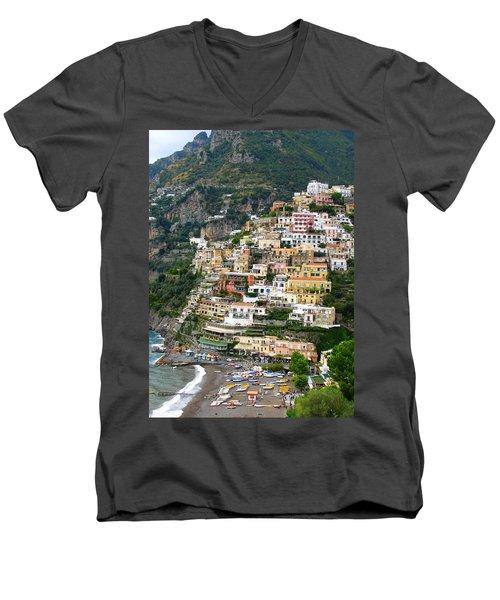 Beautiful Positano Men's V-Neck T-Shirt