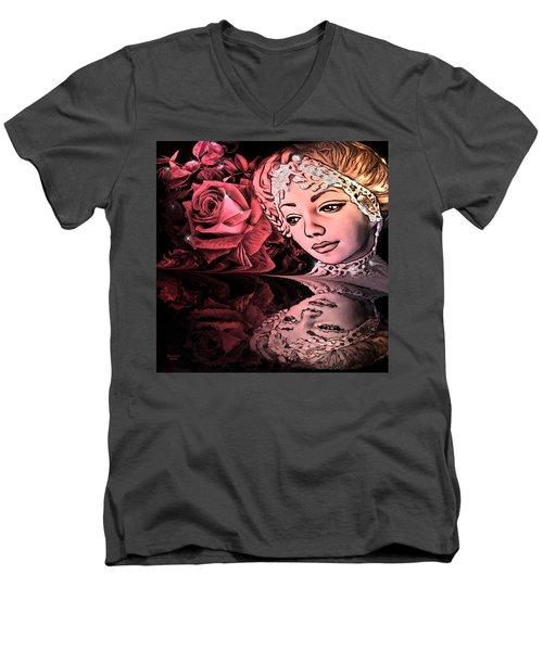 Beautiful Reflections Men's V-Neck T-Shirt