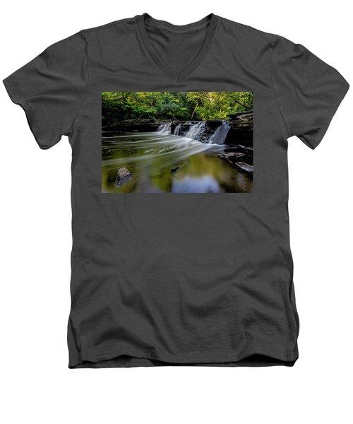 Beautiful Waterfall Men's V-Neck T-Shirt