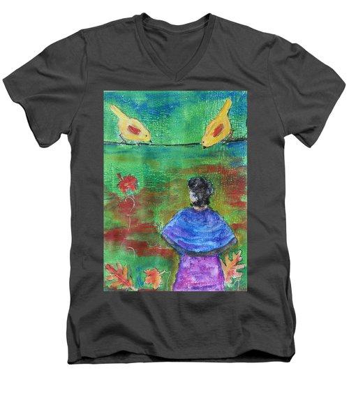 Beauty Above Men's V-Neck T-Shirt