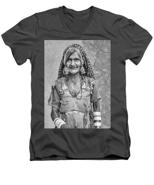 Beauty Before Age. Men's V-Neck T-Shirt