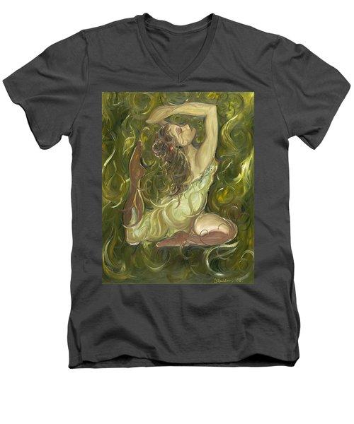 Beauty Has Surfaced  Men's V-Neck T-Shirt