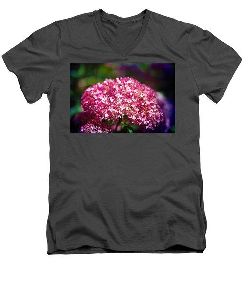 Beauty In Pink Men's V-Neck T-Shirt