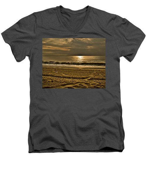 Beauty Of A Day Men's V-Neck T-Shirt