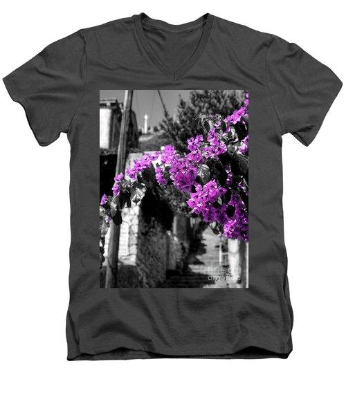 Beauty On The Up Men's V-Neck T-Shirt