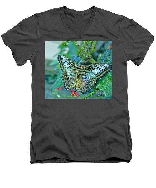 Beauty On Wings Men's V-Neck T-Shirt